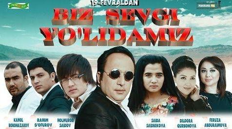 Biz Sevgi Yolidamiz биз севги йолидамиз Yangi Uzbek Kino
